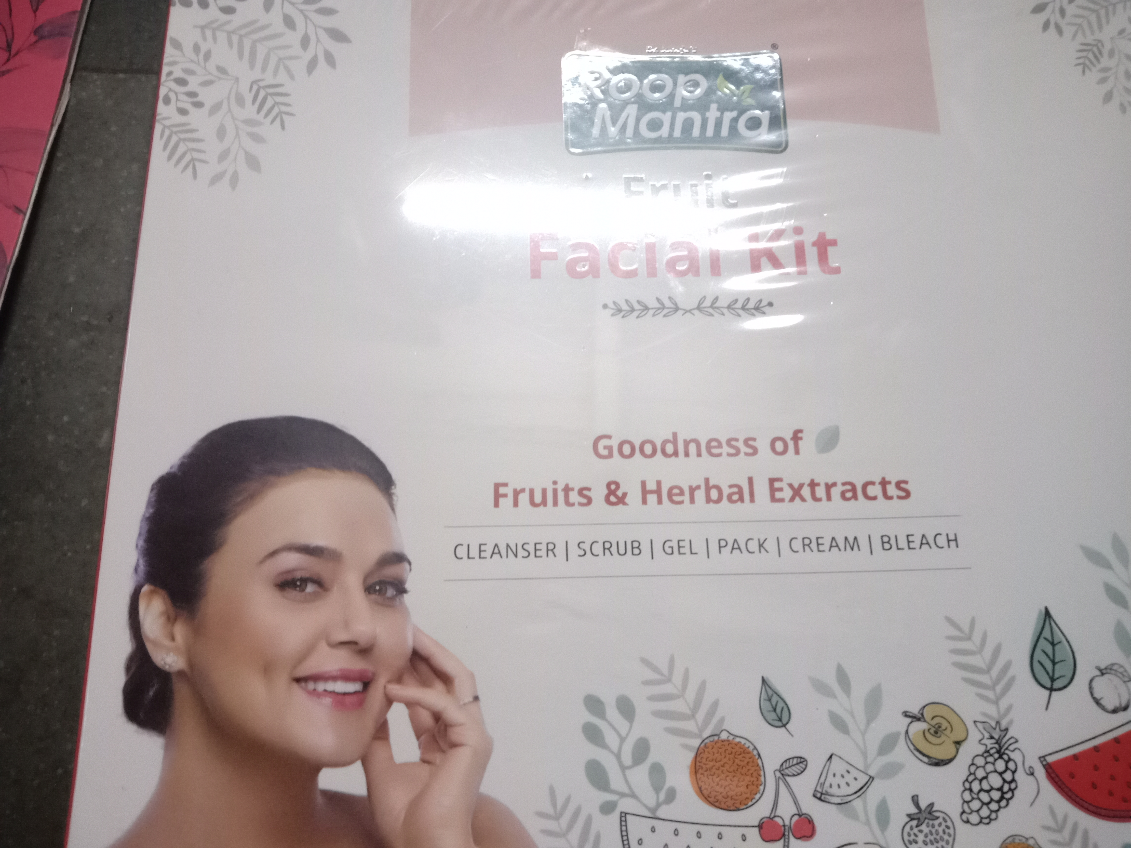 Roop Mantra Fruit Facial Kit-Best facial kit for combination skin-By rubina_shah-2
