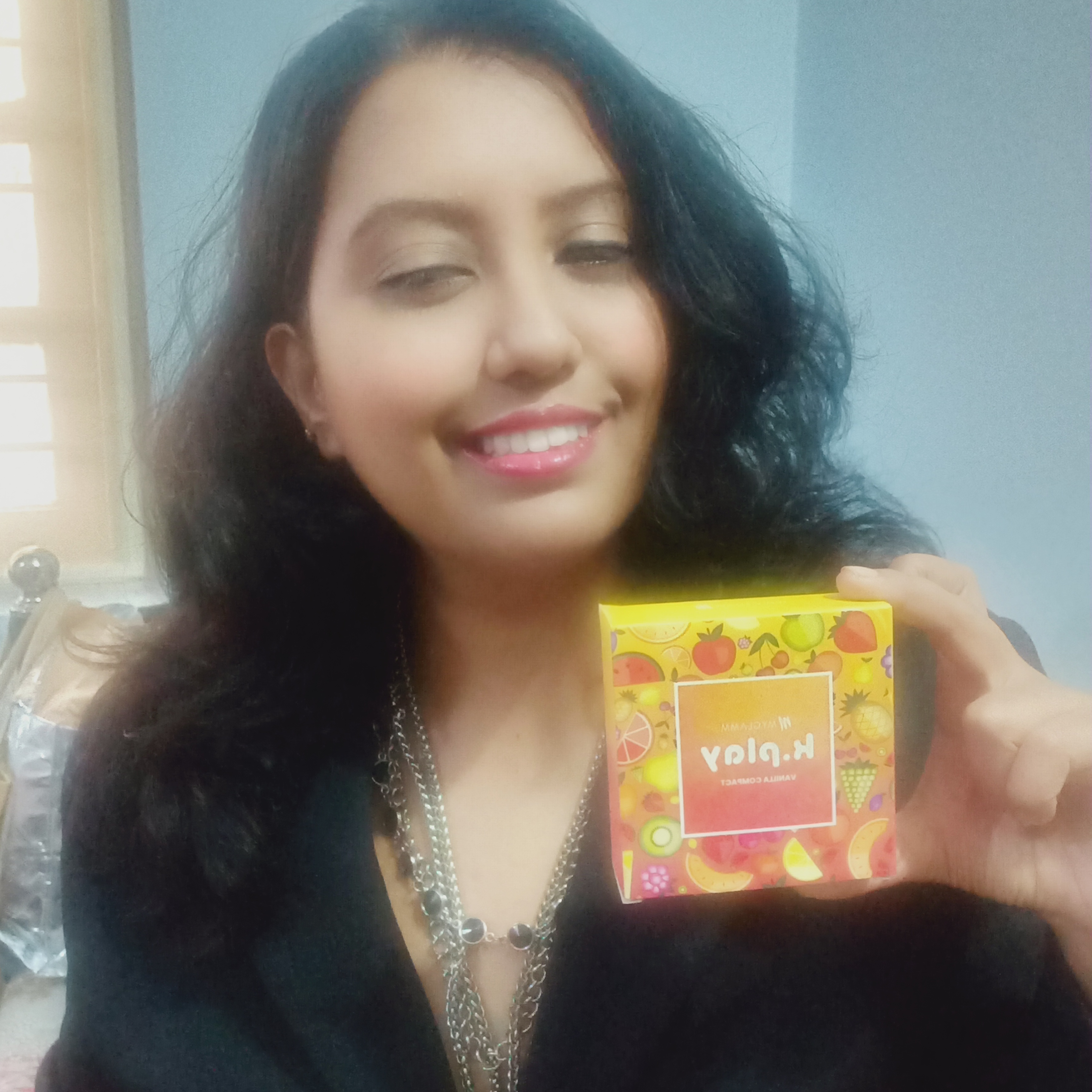MyGlamm K.PLAY FLAVOURED COMPACT-Soft glam perfect-By priyanka_bhosle-1