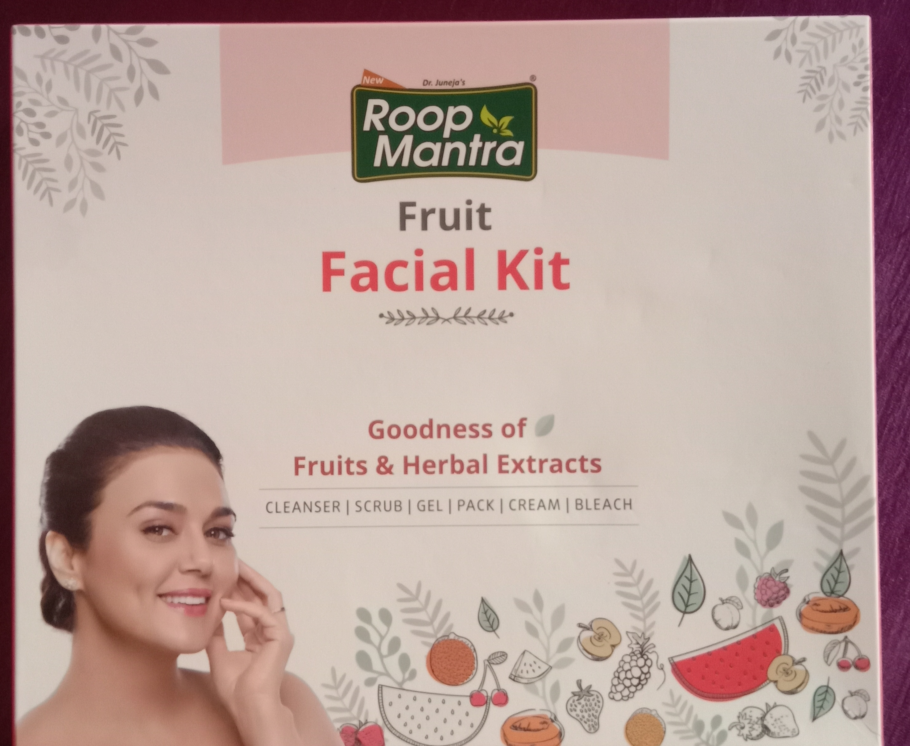 Roop Mantra Fruit Facial Kit-In love with this facial kit-By sufiaansarii-1