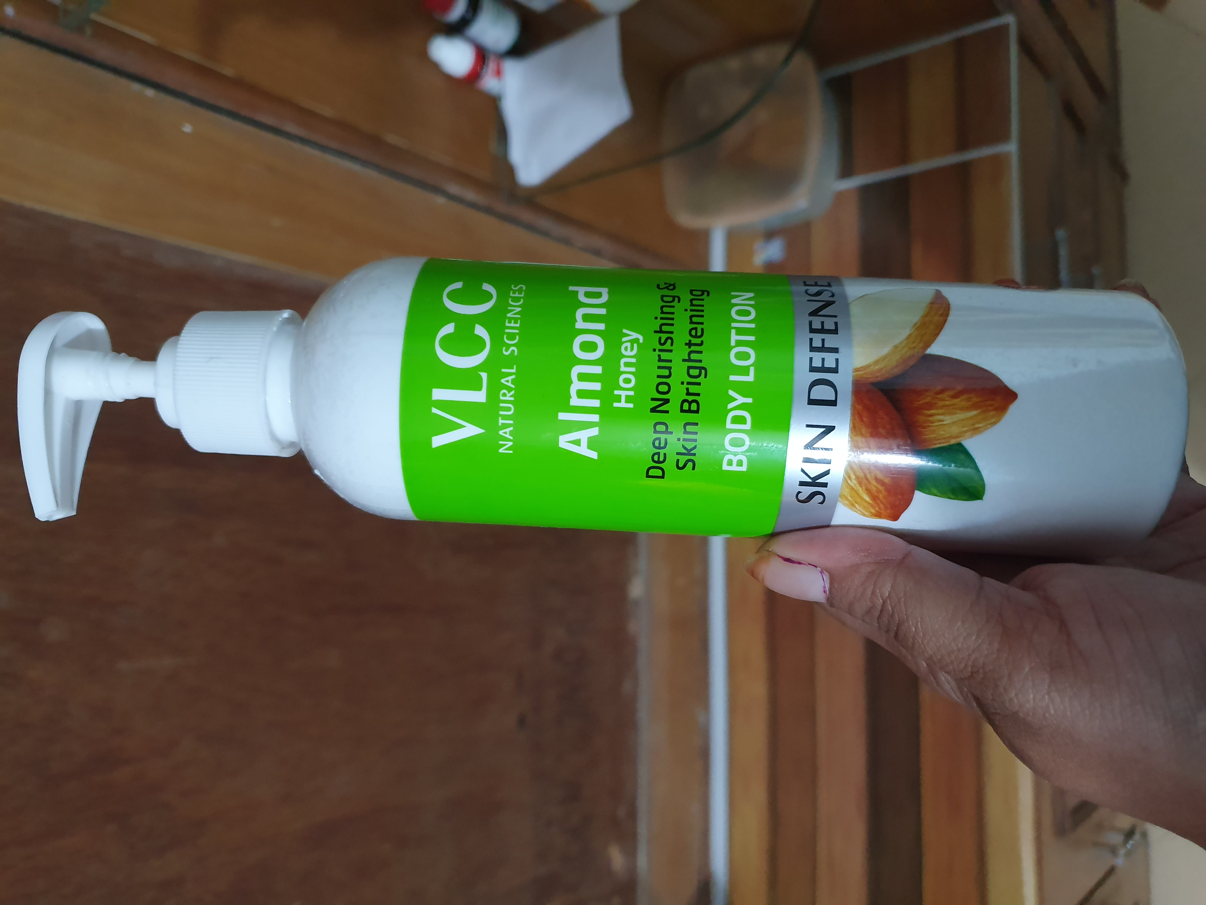 VLCC Almond Nourishing Body Lotion With SPF 15-Perfect Choice For Winters-By ankita_agarwal