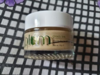 Plum Green Tea Clear Face Mask pic 1-Gods Gift For Oily Skin-By ankita_agarwal