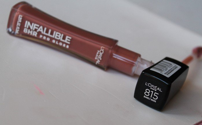 L'Oreal Paris Infallible 8 HR Pro Gloss-Color with shine n light weight-By sonu1988