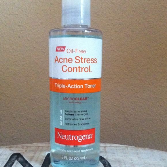 Neutrogena Oil Free Acne Stress Control Triple-Action Toner-Great-By pogostylecase