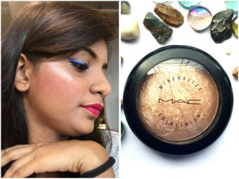 MAC Mineralize Skinfinish Highlighter -The Best highlighter-By aashnajain09