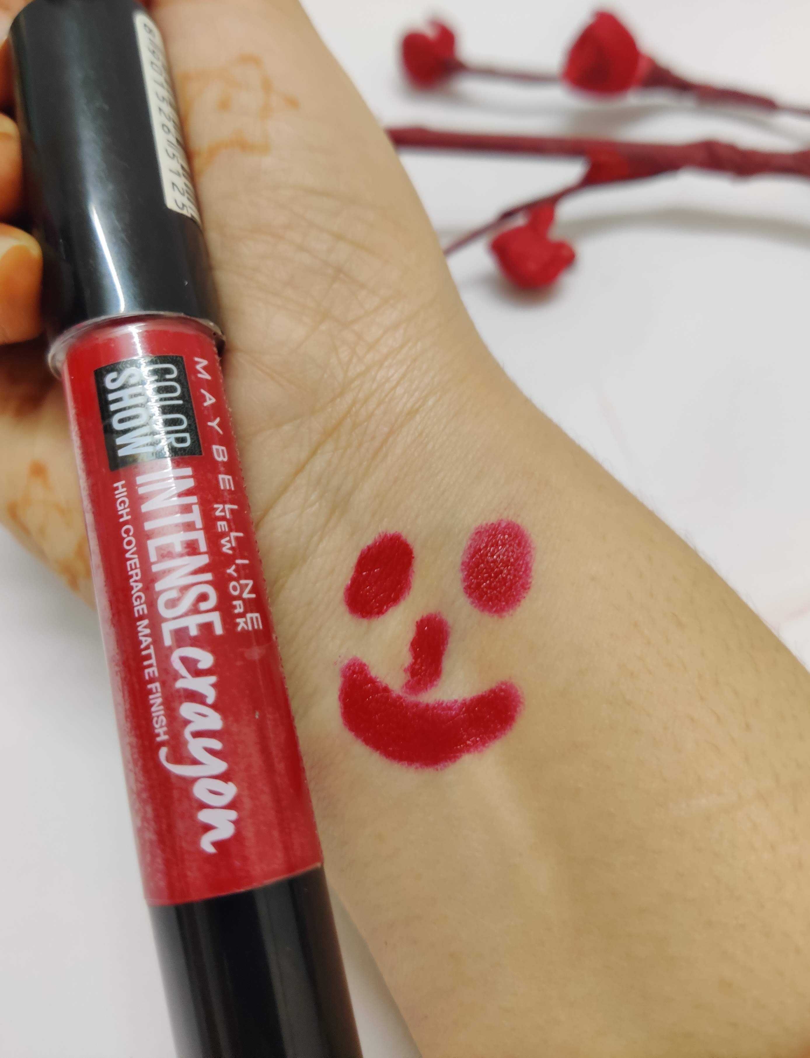 Maybelline New York Color Show Intense Crayon pic 1-Its smudges very easily-By thespokenreview