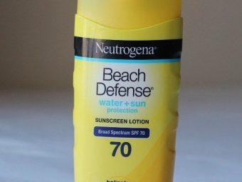 Neutrogena Beach Defense Sunscreen Lotion Broad Spectrum SPF 70 -Skin defense-By jasdeep99