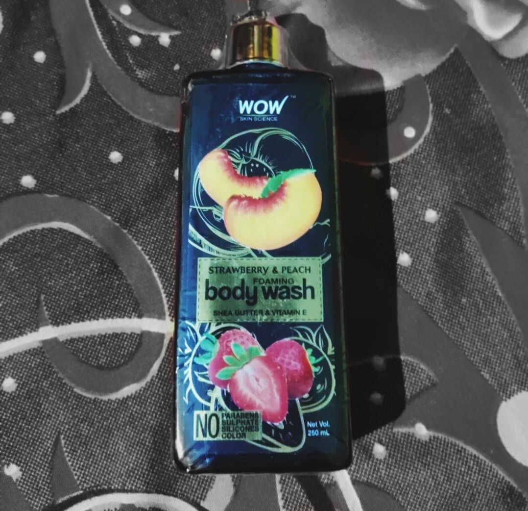 WOW STRAWBERRY AND PEACH BODY WASH-Amazing product. Who doesnt want their body to smell good and be left with soft skin.-By aish2303
