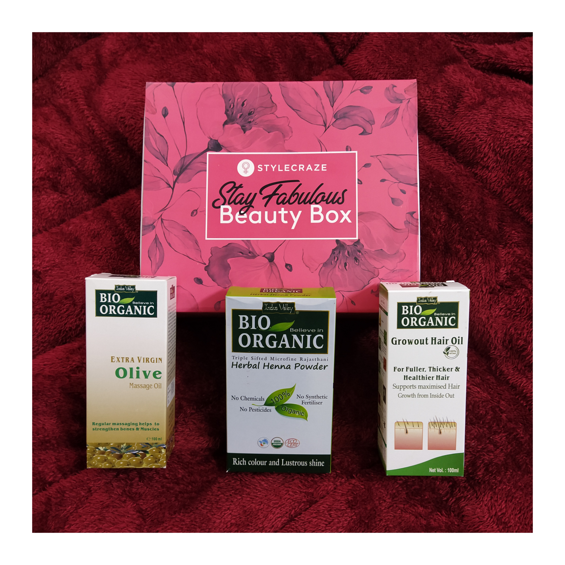 Indus Valley Bio Organic Extra Virgin Olive Massage Oil-Goodness of Olives-By bhumikanlittlem