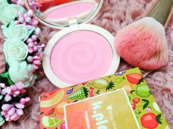 MyGlamm K.PLAY FLAVOURED BLUSH – JUICY STRAWBERRY -Its a beautiful shade-By shopaholic_adventures