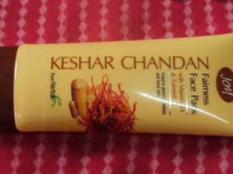 Joy Kesar Chandan Face Pack -Mild sandal wood fragrance-By vanitylove