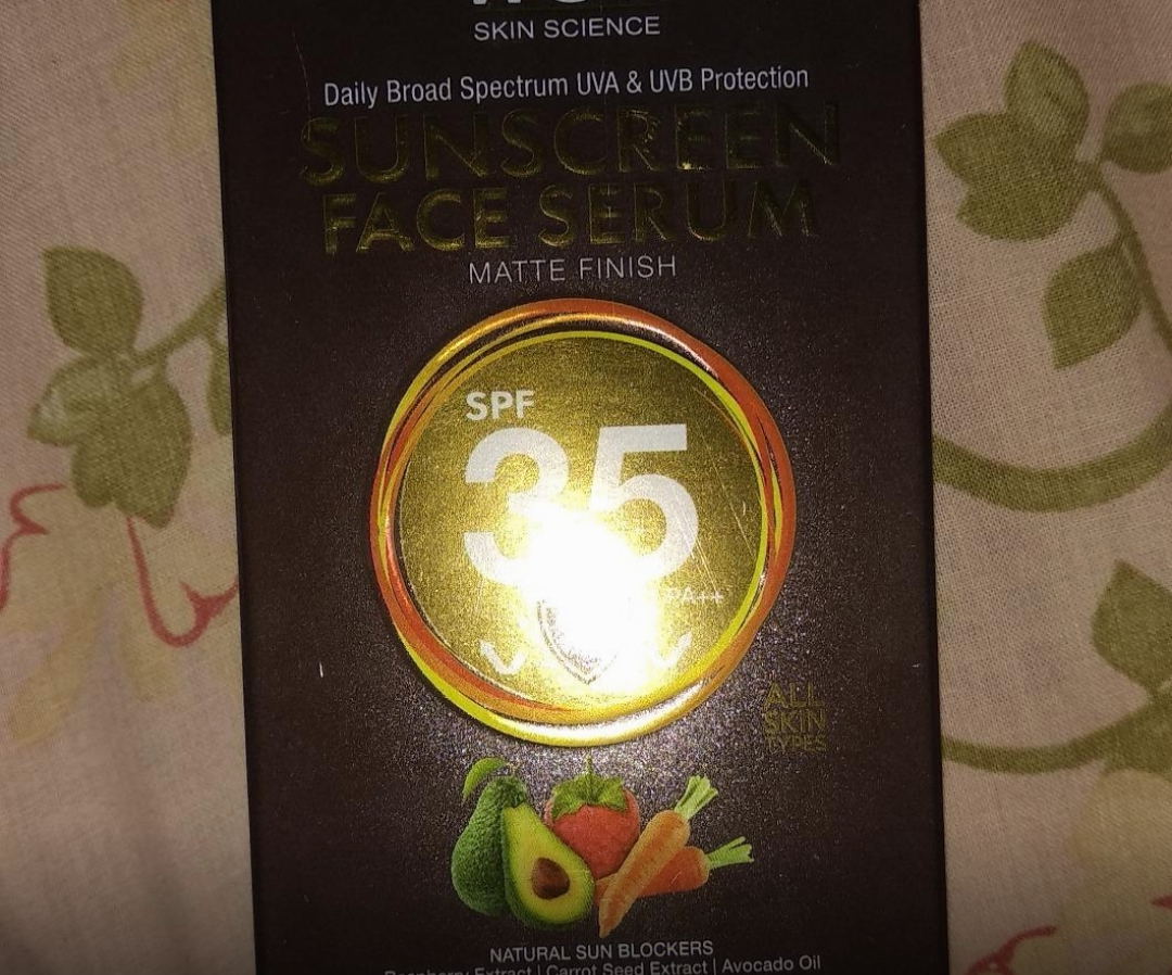 WOW Skin Science Matte Finish Sunscreen Lotion SPF 35 PA++-Good for dry skin-By sanna-1