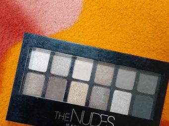 Maybelline New York The Nudes Eyeshadow Palette -Maybelline nudes eye palette-By simranwalia29