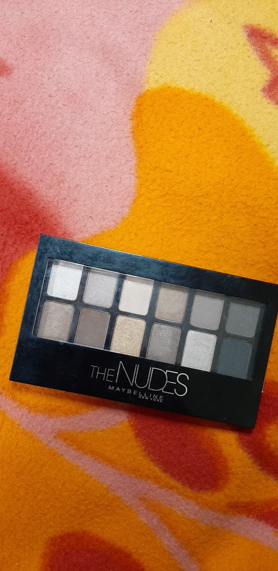 Maybelline New York The Nudes Eyeshadow Palette-Maybelline nudes eye palette-By simranwalia29