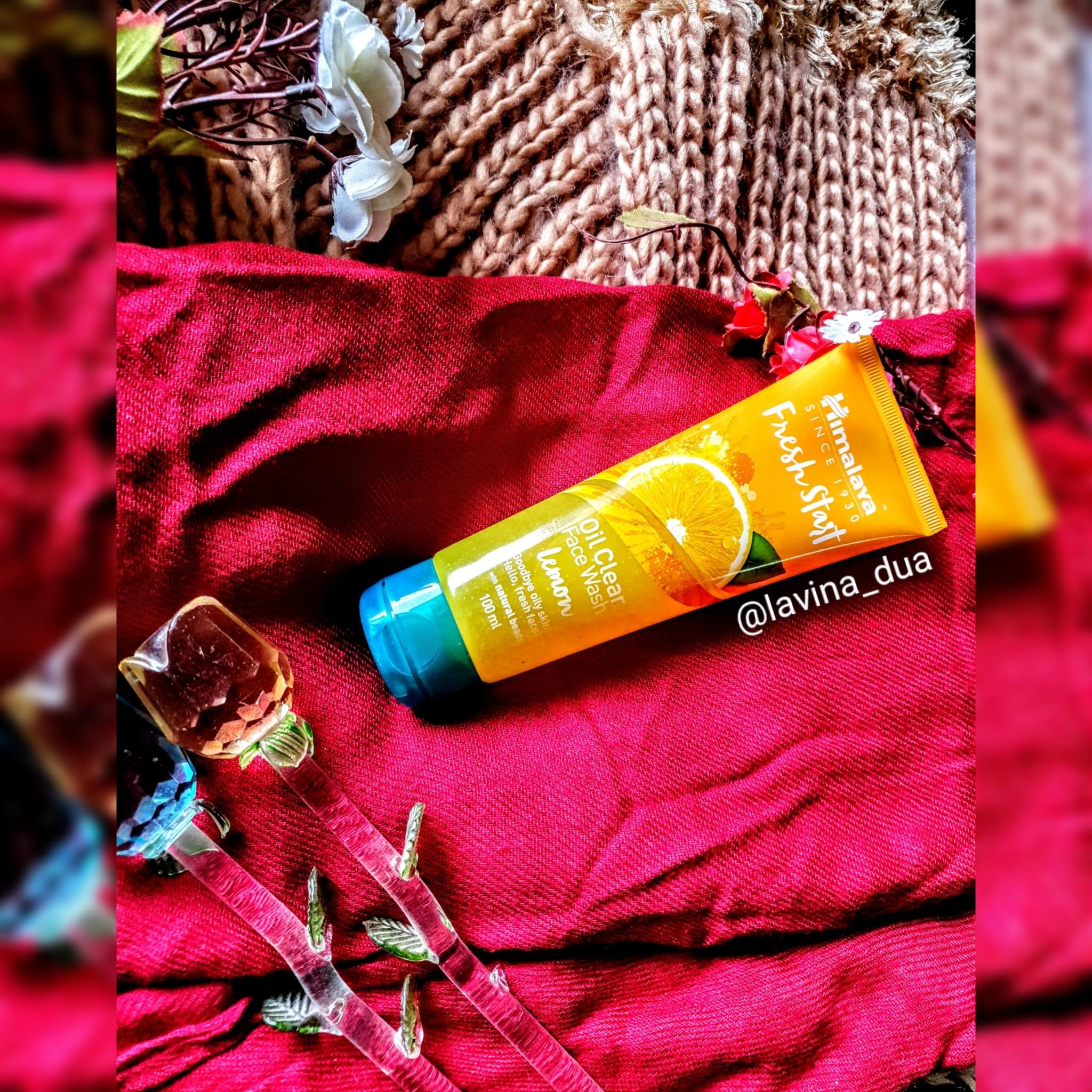 Himalaya Herbals Fresh Start Oil Clear Lemon Face Wash-Favourite Brand; Favorite Product-By lavina_dua