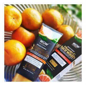 WOW Skin Science Brightening Vitamin C Face Wash -Vitamin C Wash-By thatkohlgirl