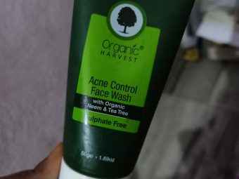 Organic Harvest Acne Control Face Wash -Cruelty free product gentle face wash-By food_blog959