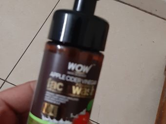 WOW Skin Science Apple Cider Vinegar Foaming Face Wash -Best products-By saumay5