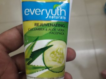 Everyuth Naturals Rejuvenating Cucumber Face Pack pic 1-Nice product-By manju_