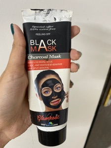 Charcoal Mask Cream-Charcoal mask-By jaskeeratkaur17