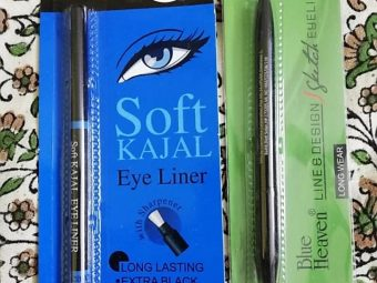 Blue Heaven Line And Design Sketch Eyeliner -Sexy eye liner-By mitshu98