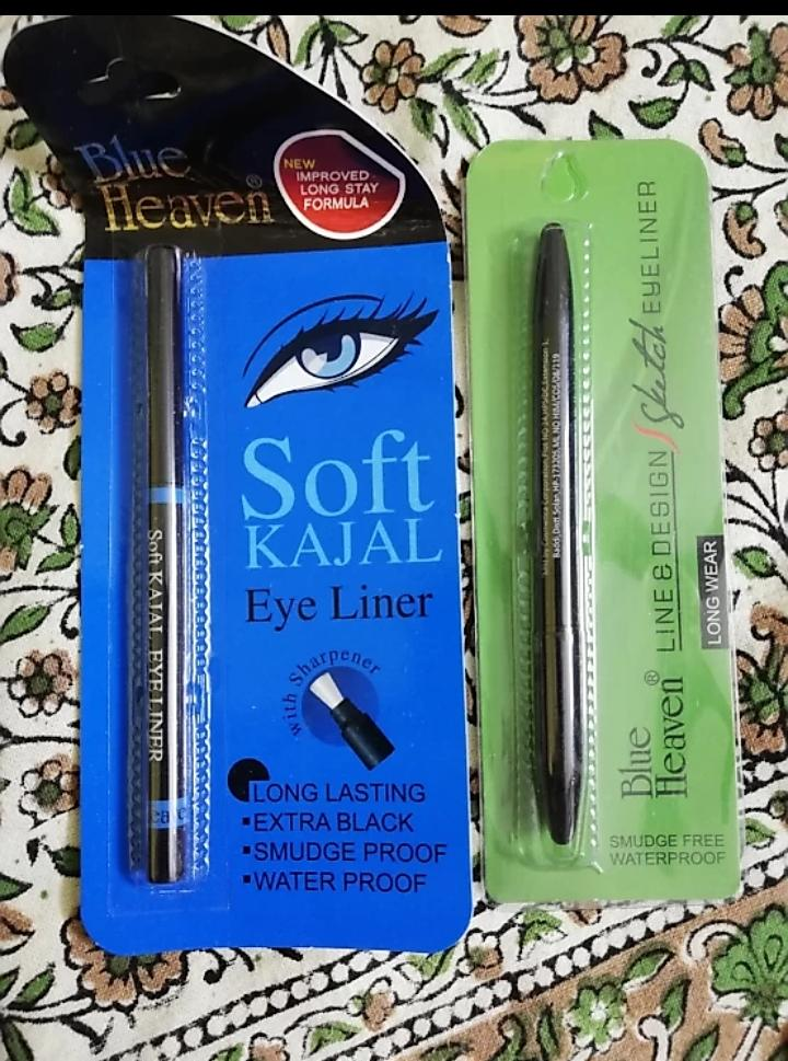 Blue Heaven Line And Design Sketch Eyeliner -Sexy eye liner-By mitshu98