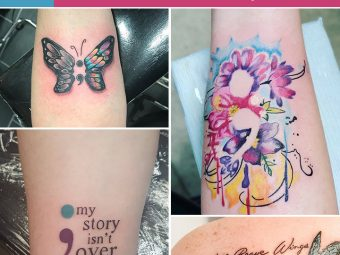 40 Beautiful Semicolon Tattoo Designs And Their Meanings