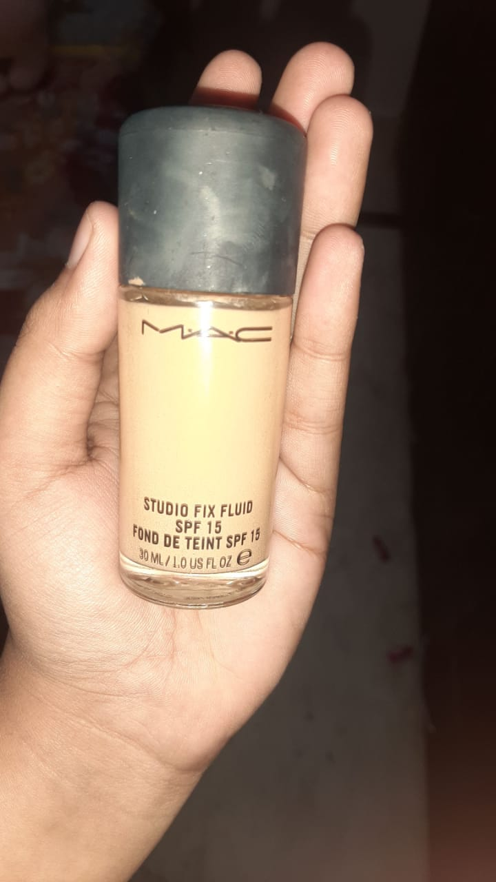 MAC Studio Fix Fluid Foundation With SPF 15-Studio foundation-By garimabagga