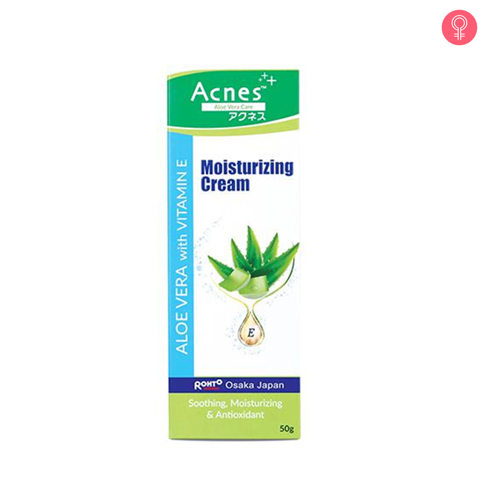 Acnes Aloe Vera With Vitamin E Moisturizing Cream