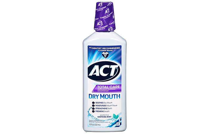 Act Total Care Dry Mouth Fluoride Mouthwash
