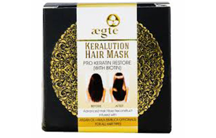 Aegte Keralution Pro-Keratin Restore Hair Mask For Smooth And Strong Hair