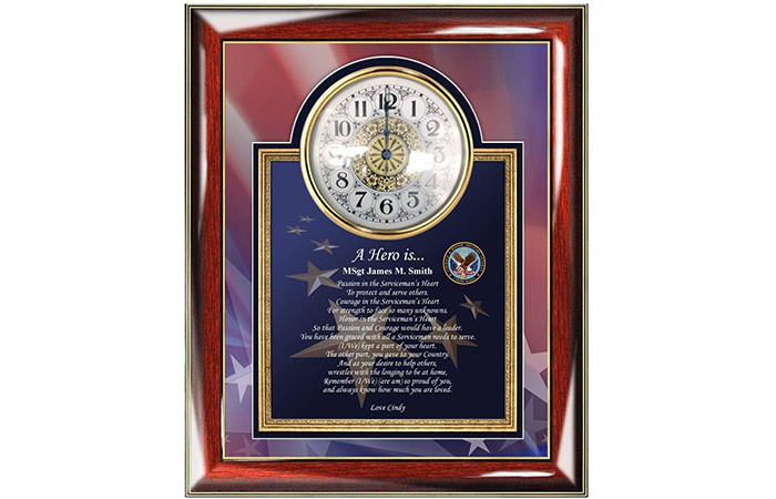 AllGiftFrames Military Clock