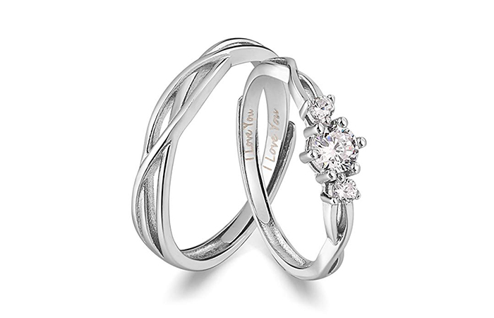 Ananoz Couple Ring set