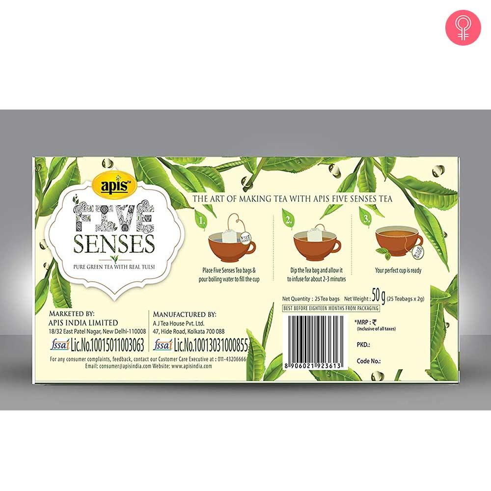 Apis Five Senses Green Tea