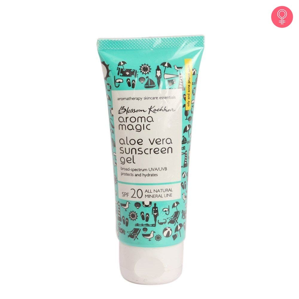 Aroma Magic Aloe Vera Sunscreen Gel