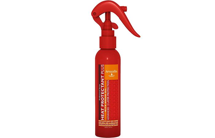 Arvazallia Heat Protectant Plus With Argan Oil- Leave-in Conditioner