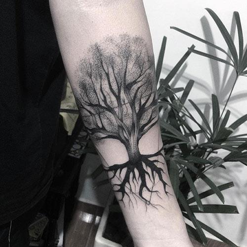 Ash Tree Of Life Tattoo