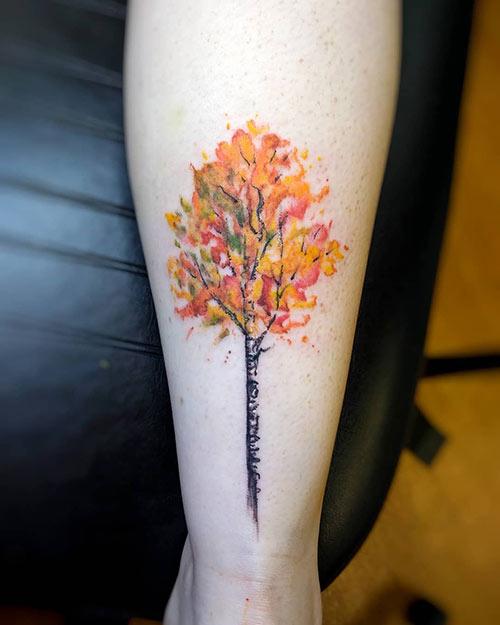 Aspen Tree Of Life Tattoo