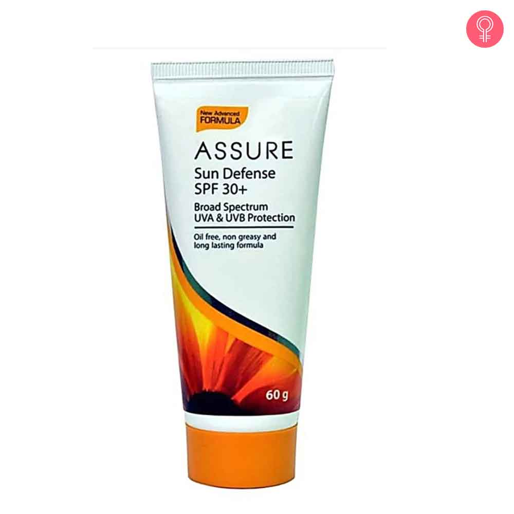 Assure Sun Defense SPF 30+ Cream