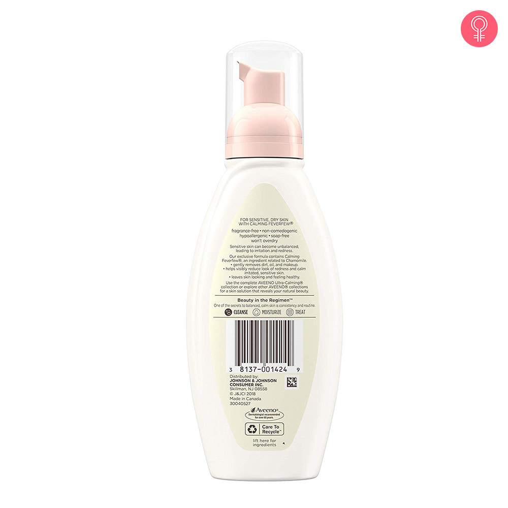 Aveeno Ultra Calming Foaming Cleanser