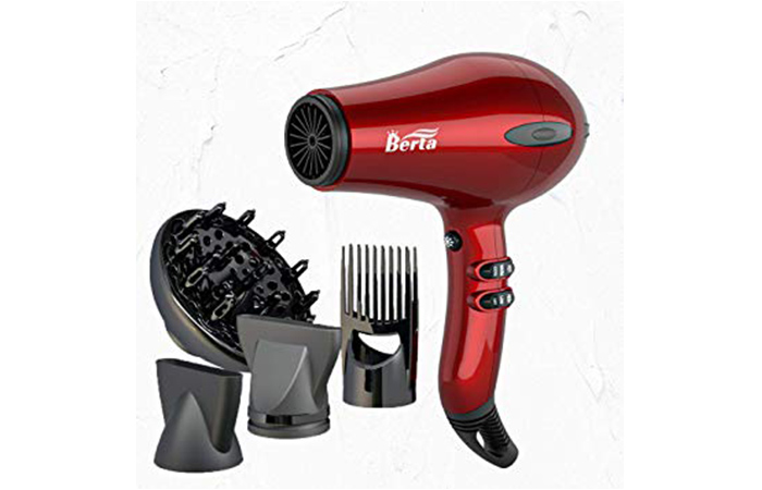 BERTA 1875W Hair Dryer Negative