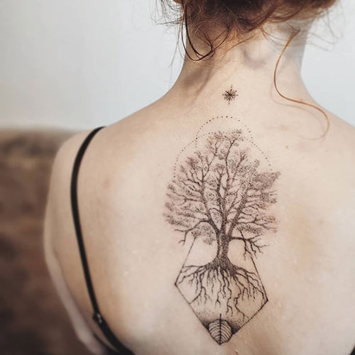 Beech Tree Of Life Tattoo