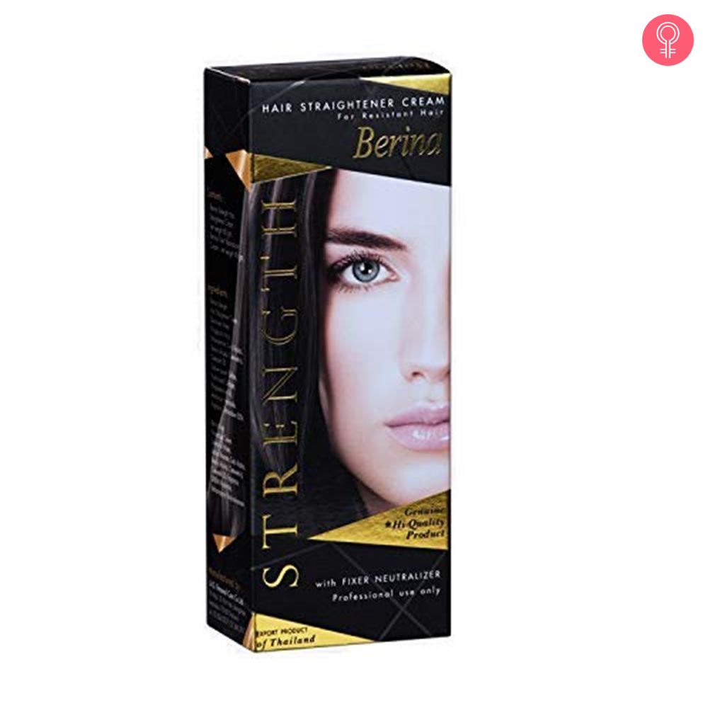 Berina Hair Straightening Cream