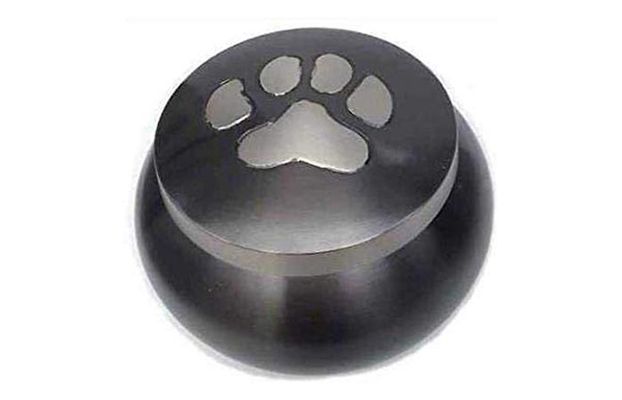 Best Friend Services Mia Paws Series Pet Urn – Slate