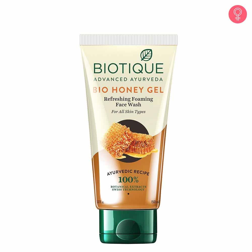 Biotique Bio Honey Gel Refreshing Foaming Face Cleanser