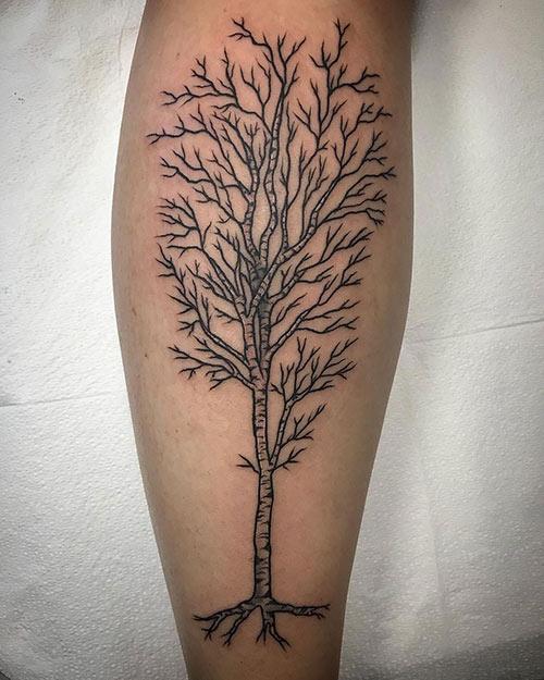 Birch Tree Of Life Tattoo