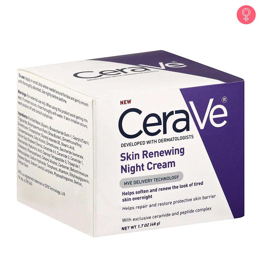 CeraVe Skin Renewing Night Cream