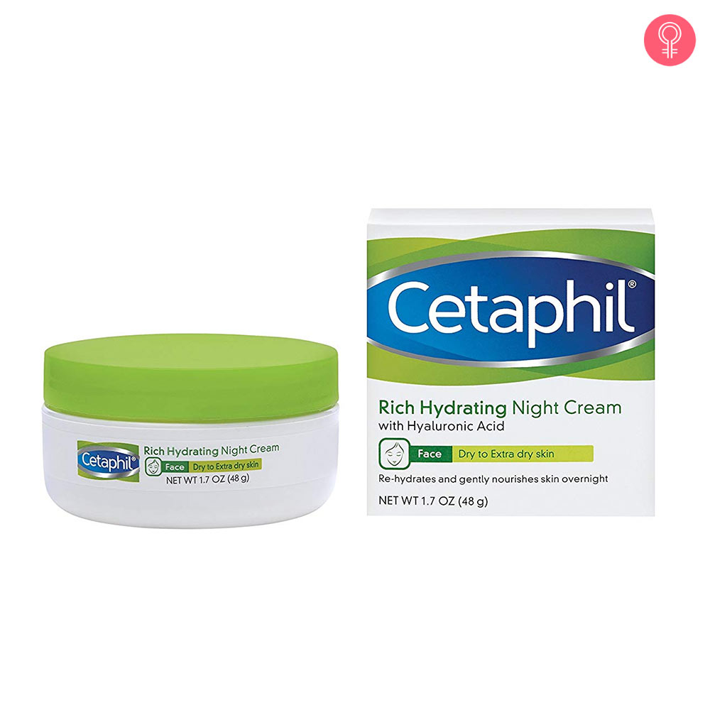 Cetaphil Rich Hydrating Night Cream With Hyaluronic Acid