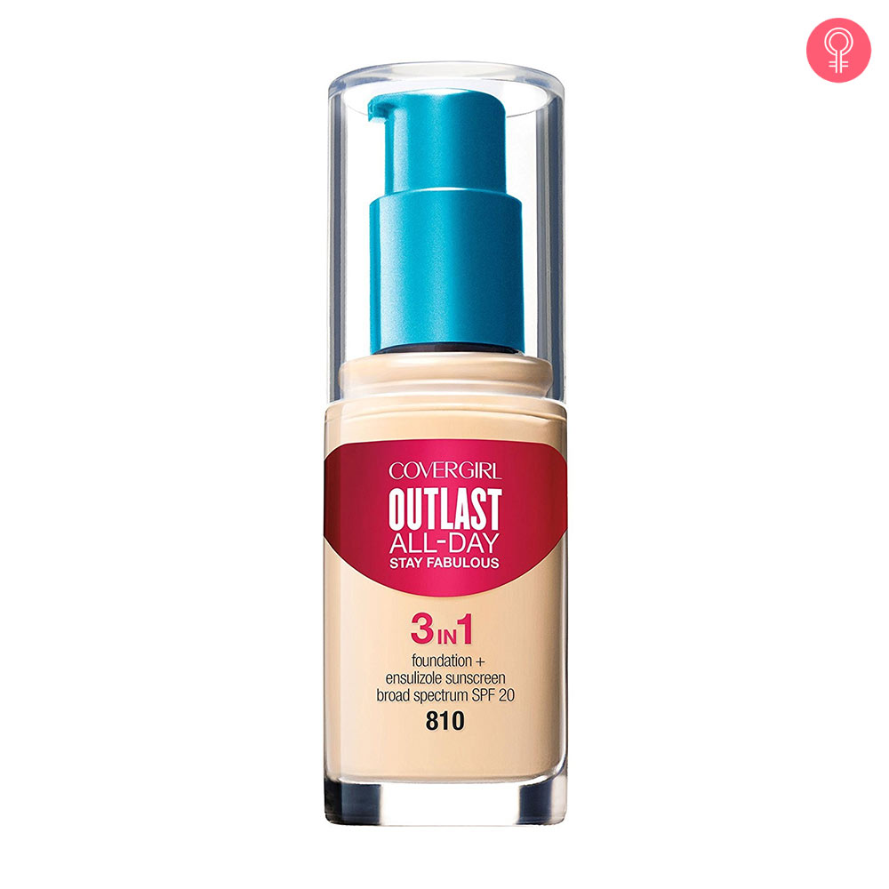 CoverGirl Outlast All-Day Stay Fabulous 3-in-1 Foundation