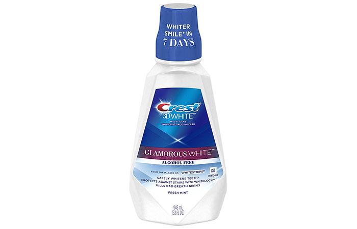 Crest 3D White Luxe Glamorous White Mouthwash