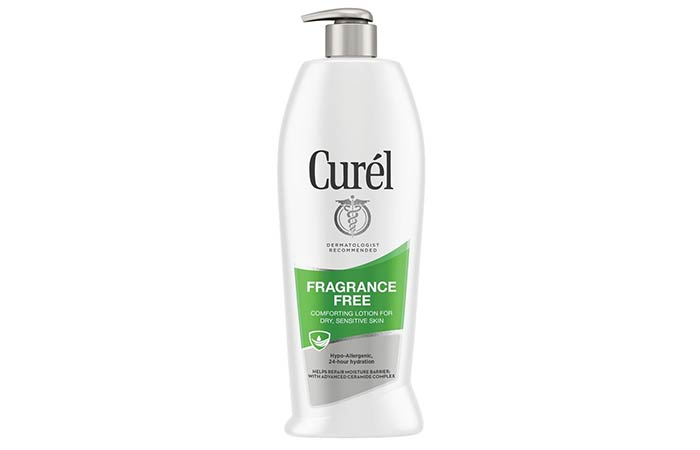 Curel Fragrance-Free Comforting Body Lotion